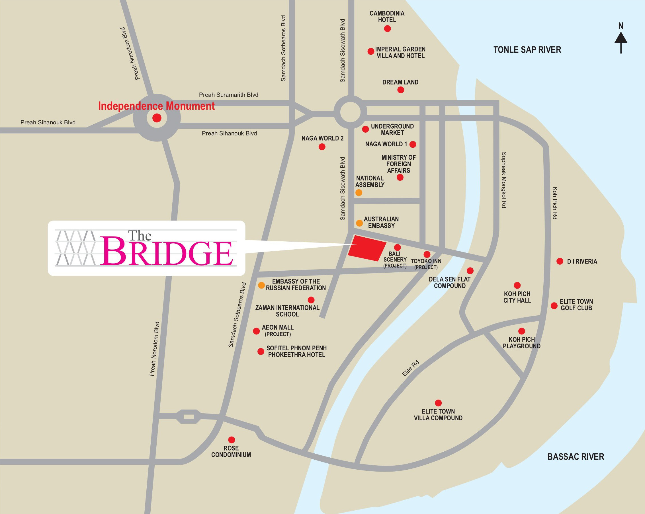 The Bridge Location_Map