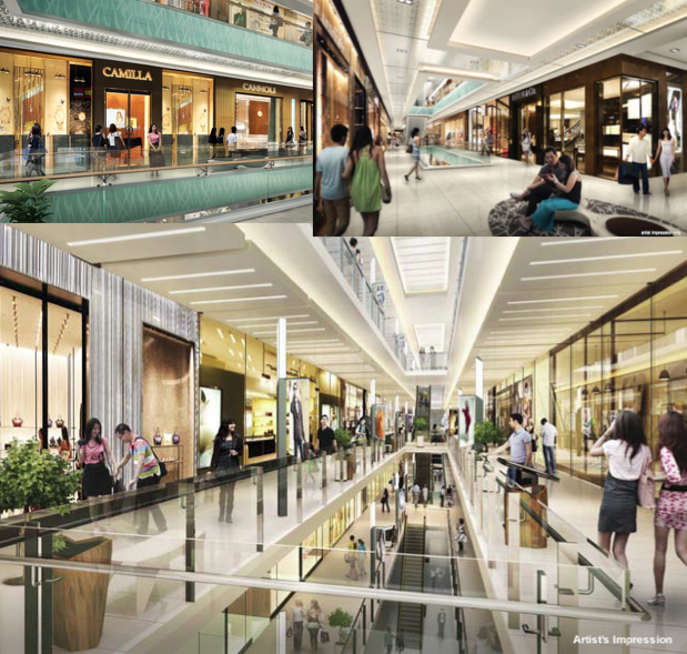 The Bridge Retail Mall Spaces