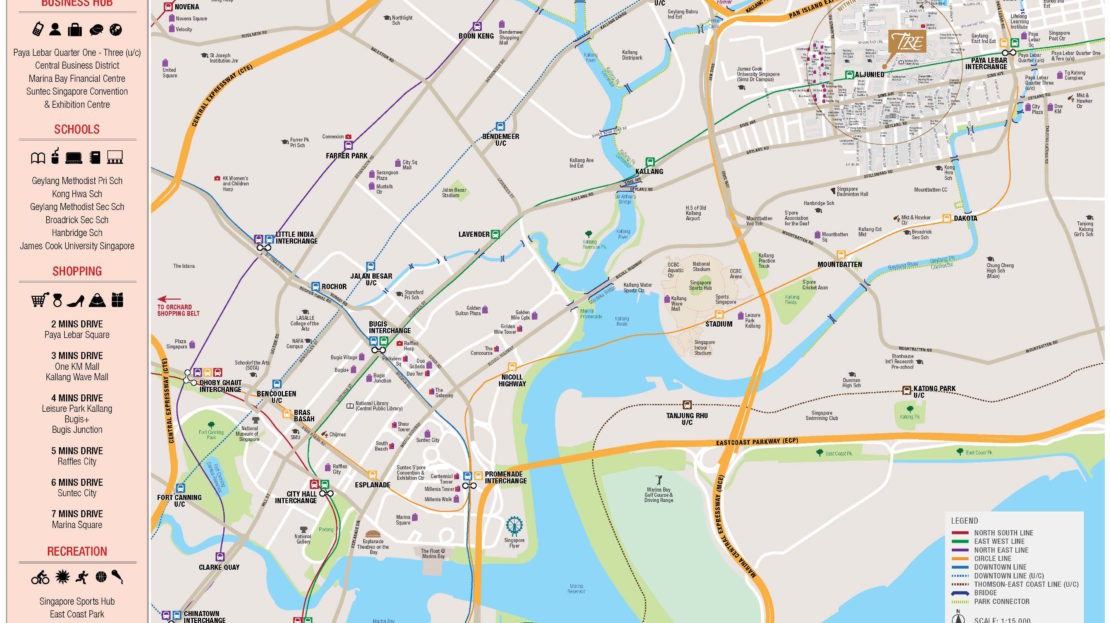 tre-residences-new-condo-location-map