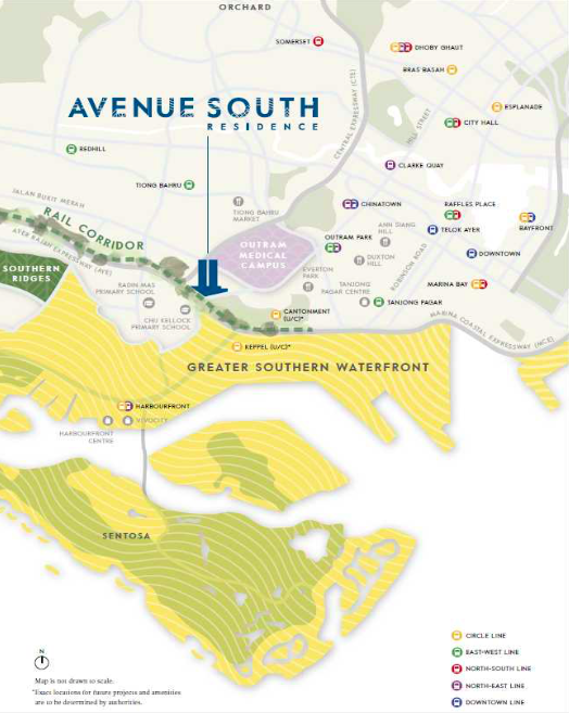 Avenue South Residence Location